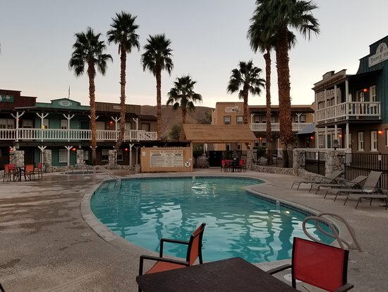 Palm Canyon Hotel Rv Resort Pool And Rooms