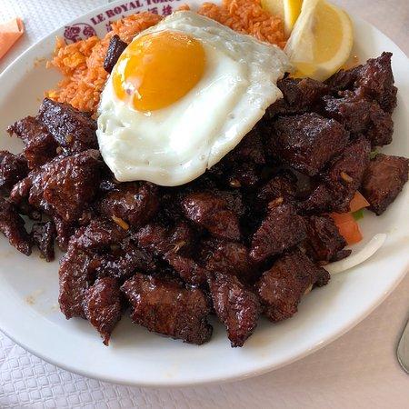 Le Royal Torcy : Lok Lak supplément viande