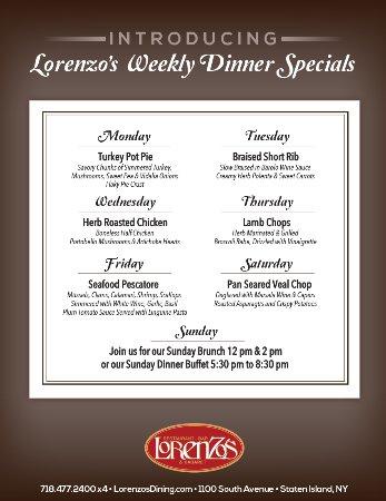 Lorenzo S Restaurant Staten Island