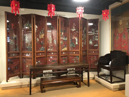 Superieur Heritage Museum Of Asian Art: Cinnabar Lacquer U0026 Hard Stone Overlay 8 Panel  Screen