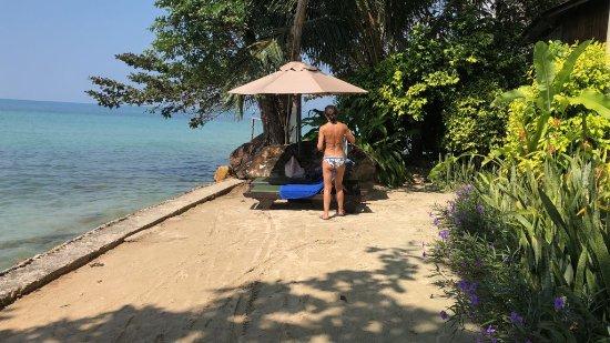 Sea View Resort & Spa Koh Chang: spiaggia riservata