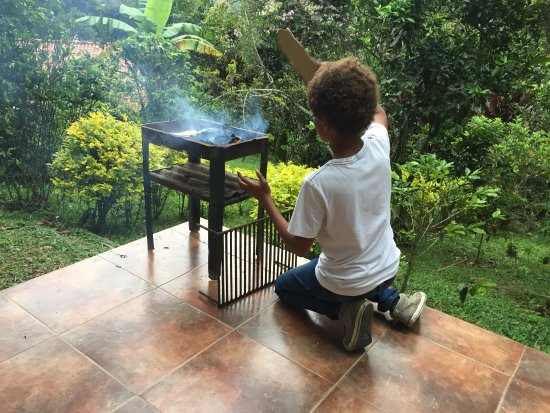 San Francisco, Colombia: BBQ available on request