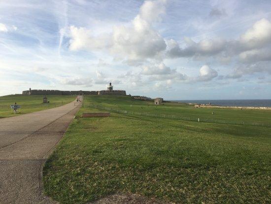 Site historique national de San Juan : Long walk