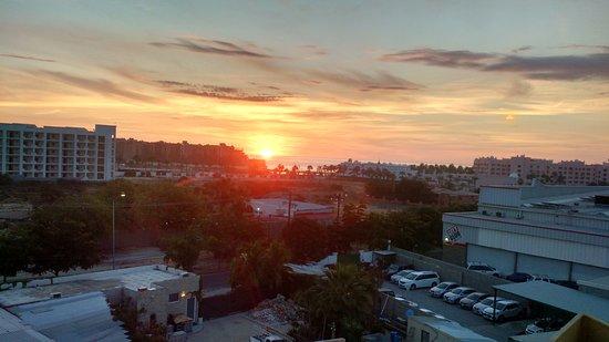 Fairfield Inn & Suites by Marriott Los Cabos: Sunrise rom my hotel room