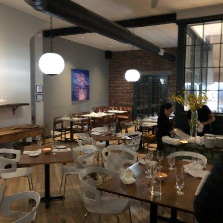 Lambertville, NJ: Nice dining area