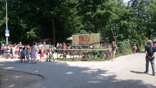 Welzheim, Tyskland: Entrada al parque