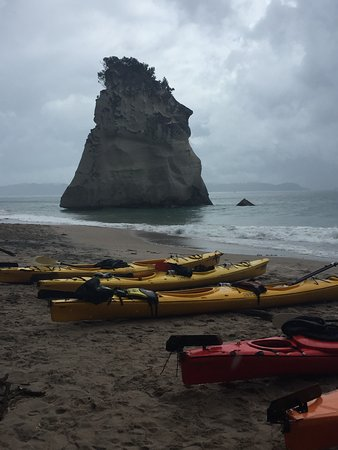 Cathedral Cove Kayak Tours: The rock that everyone takes a photo of!