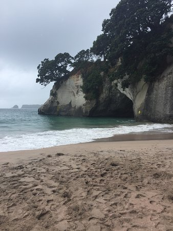 Cathedral Cove Kayak Tours: another view from the Cathedral Cove beach.