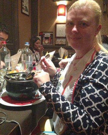 Le Chou de Bruxelles: Enjoying my mussels