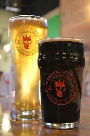 Corsaire Pub: Une belle pinte de Corsaire!