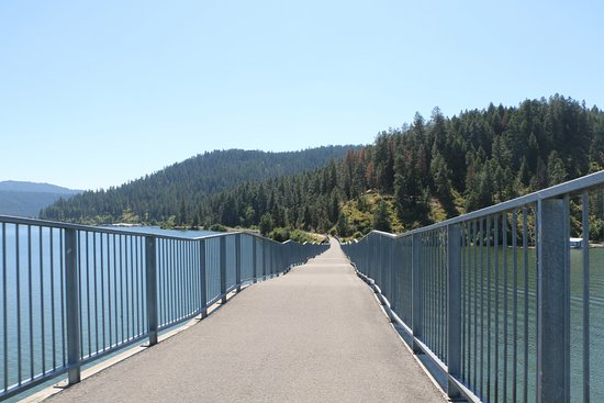 Plummer, ID: Ramp on Chatcolet Bridge