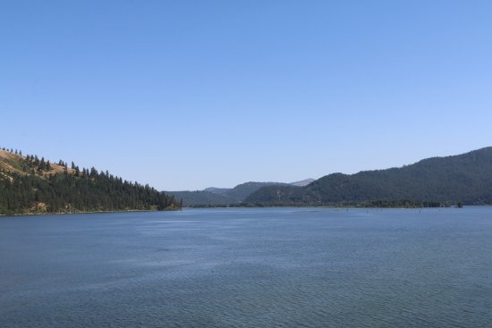 Plummer, ID: View from Chatcolet Bridge