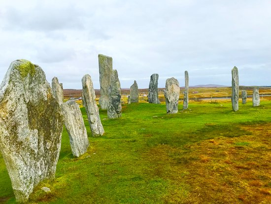 Stornoway, UK: The world famous Callanish Stones