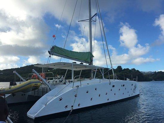 Le Robert, Мартиника: mabouya la le catamaran