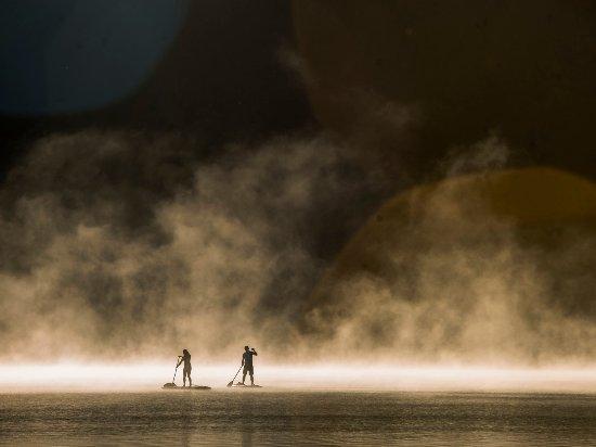 Paddleboarding in Whistler Photo by Justa Jeskova