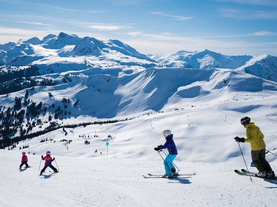 Whistler, Canada: Spring Family Ski Day Photo by Mike Crane