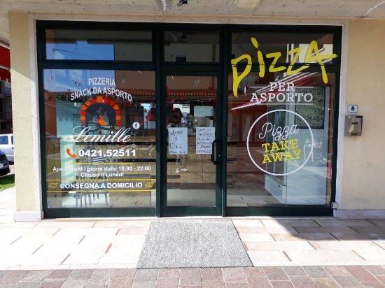 Musile di Piave, Italien: Pizzeria Lemille