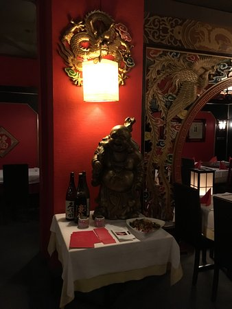 MAN FAT chinesisches Restaurant: Innenansicht