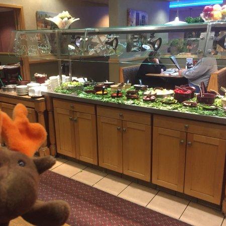 New Cumberland, Πενσυλβάνια: Salad Bar