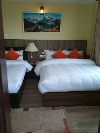 Dhulikhel, نيبال: Gaia Holiday home ready to serve with more room & facilities.....