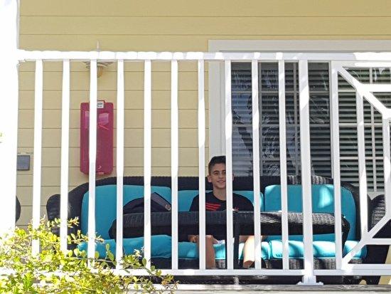 Beach Club at Siesta Key: balcones