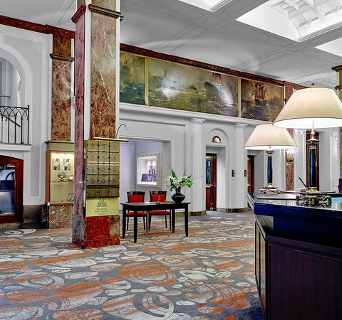 Hotel Atlantic Kempinski Hamburg: Lobby