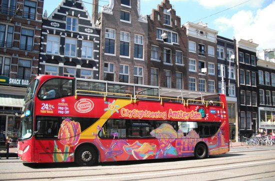 Amsterdam Hop-On Hop-Off Bus Tour...