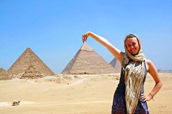 カイロのベスト:エジプト美術館とバザールのピラミッド