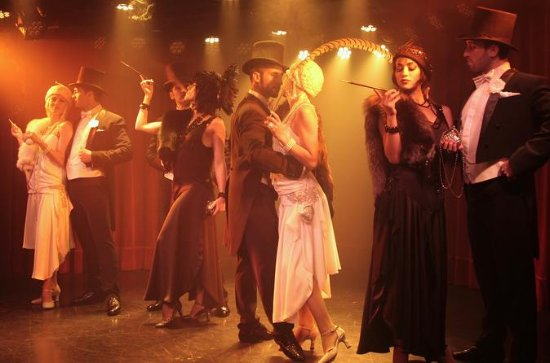 Rojo Tango-diner en tangoshow ...