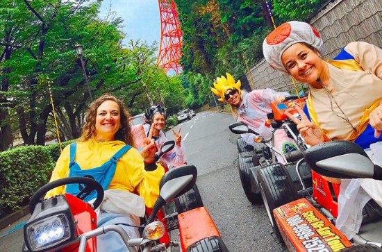 Officielt Street Go-Kart Tour - Osaka...