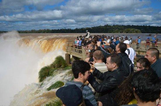 Une journée aux chutes d'Iguazu...