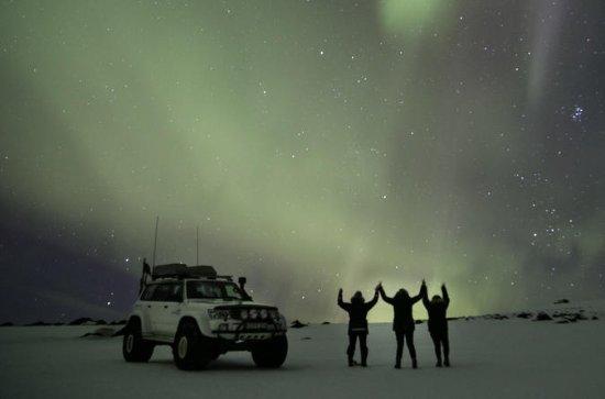 Northern Lights sur Eyjafjallajökull...
