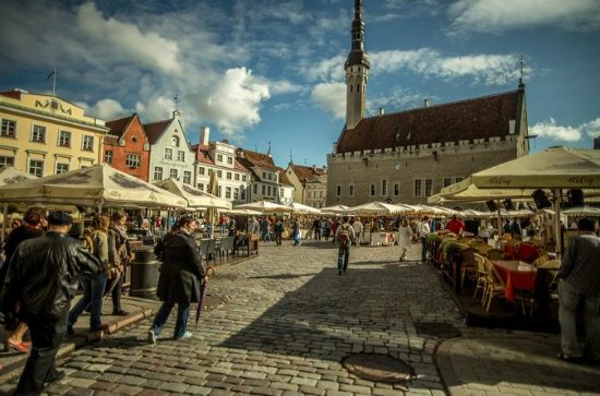 Tallinn: Old Town and Kalamaja, 5hrs