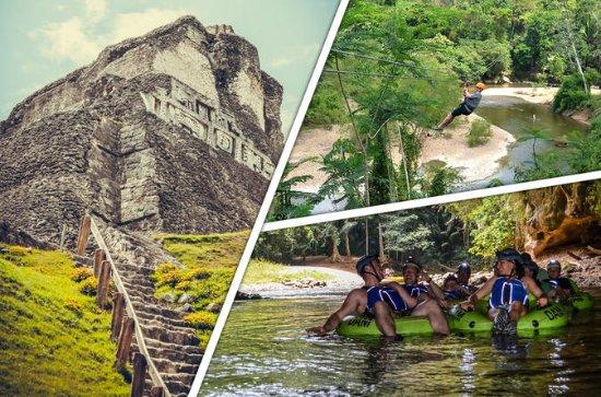 Excursión a Xunantunich, Cave Tubing...