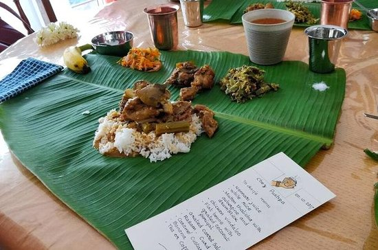 Authentisches indisches Essen mit...