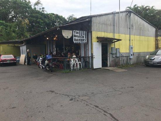 Tin Shack Bakery : Tin Shack building