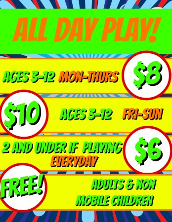2 Froggy Jumps: Walk-In Play Pricing