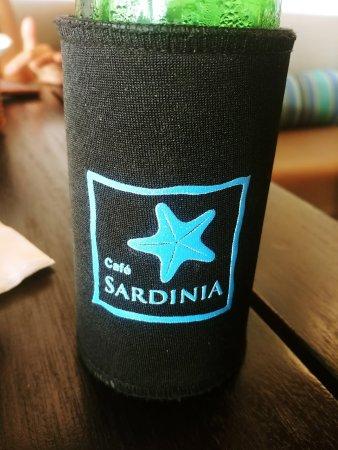 Cafe Sardinia: Stubbie holders as standard