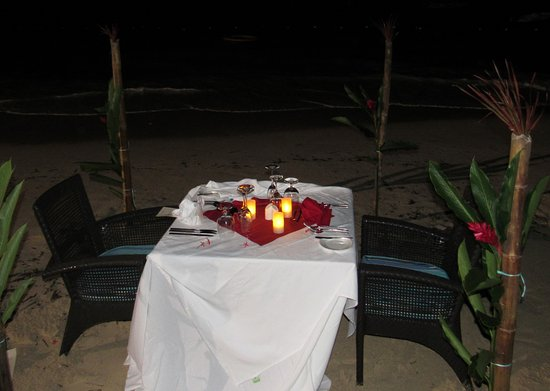Boscobel, Jamaica: Private Valentine's Day Dinner on the Beach