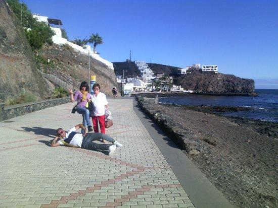 Las Playitas, Espanha: passeggiata
