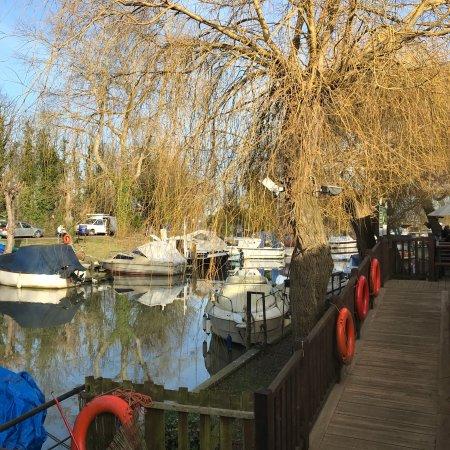 Lovely riverside pub