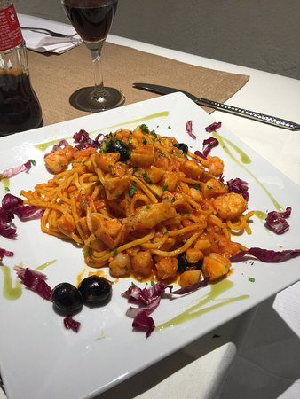 Restaurante Mirabello: Chittara Pescatore