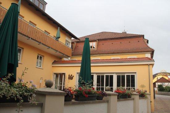 Memmelsdorf, Allemagne : Terrasse