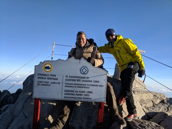 Summit with Everest Ravi - Picture of Let's Climb Mount Kinabalu