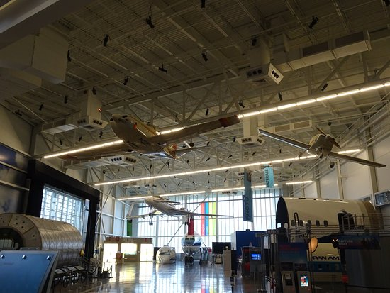 Future of Flight Aviation Center & Boeing Tour: Some interesting sites