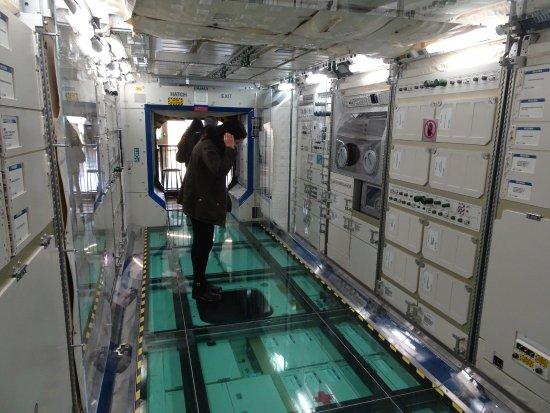 Future of Flight Aviation Center & Boeing Tour: ISS module