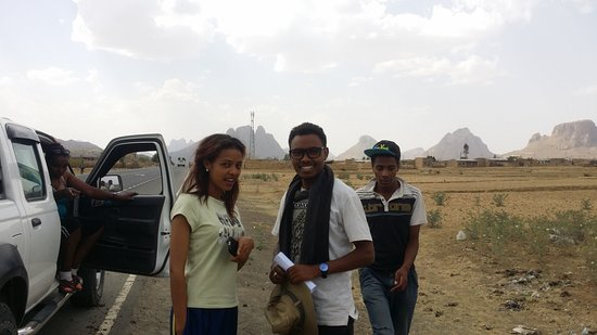 "Tigray Region, เอธิโอเปีย: Adwa... ""Mountains sitting for meeting"""