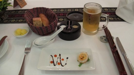 Victoria Can Tho Resort: They work hard on food presentation