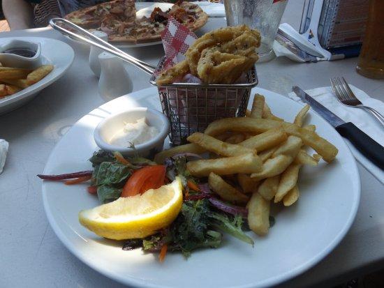 Bargara, Australia: calamari