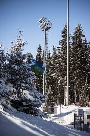 Restaurant «Freestyle»: Снежные пейзажи